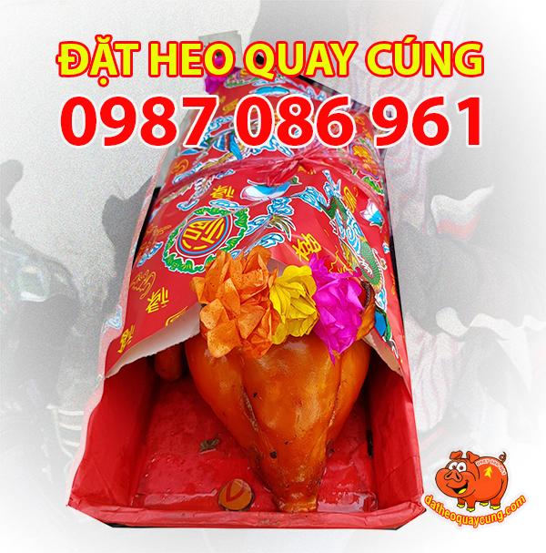Đặt heo quay cúng ngon giá bình dân nhất tại Sài Gòn